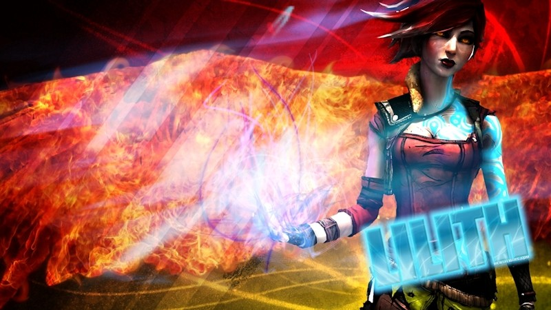 Borderlands 2 Background - Lilith by Mrjimjamjamie on ...  |Borderlands 2 Wallpaper Lilith