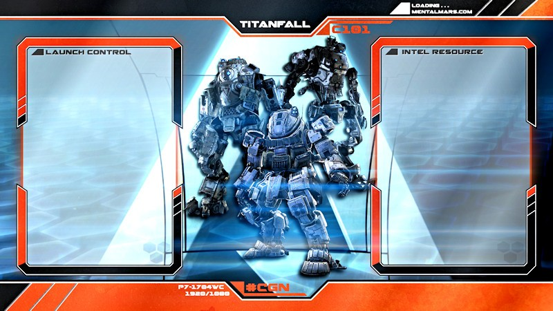 Titanfall Interface Wallpaper