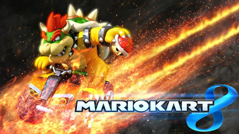 Mario Kart 8 - Bowser Wallpaper
