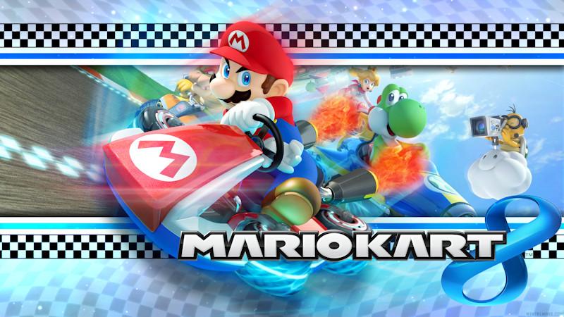 Mario Kart 8 Background: Mario Kart 8 Wallpaper