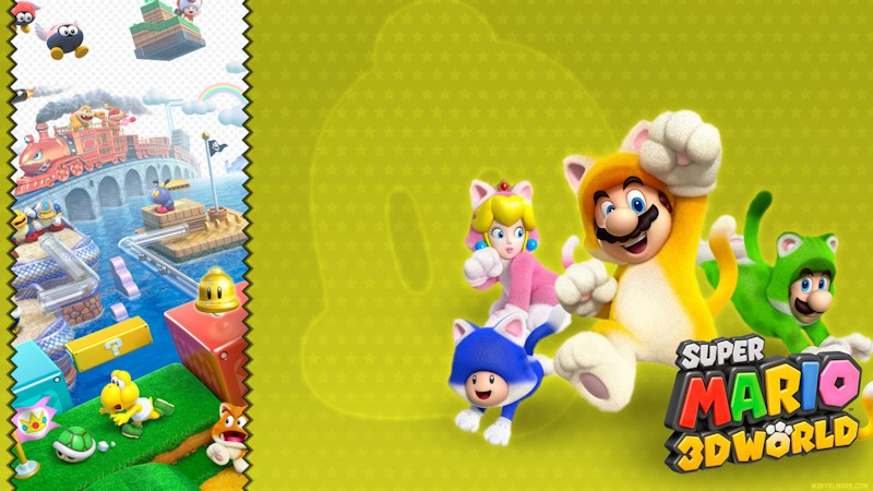 Super Mario 3D World - Catsuit Wallpaper
