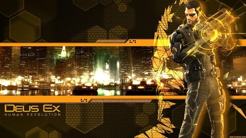 deus ex human revolution wallpaper 1600x900