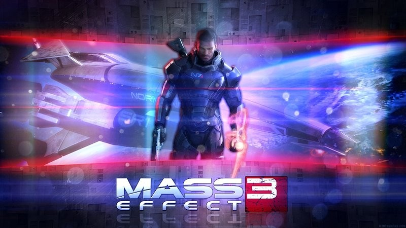 Mass Effect Wallpaper - Male Shepard