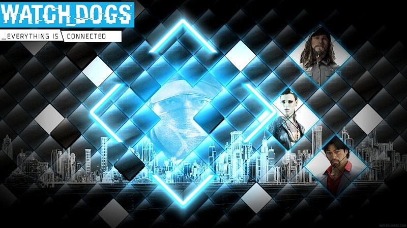 Watch Dogs - City Grit Wallpaper