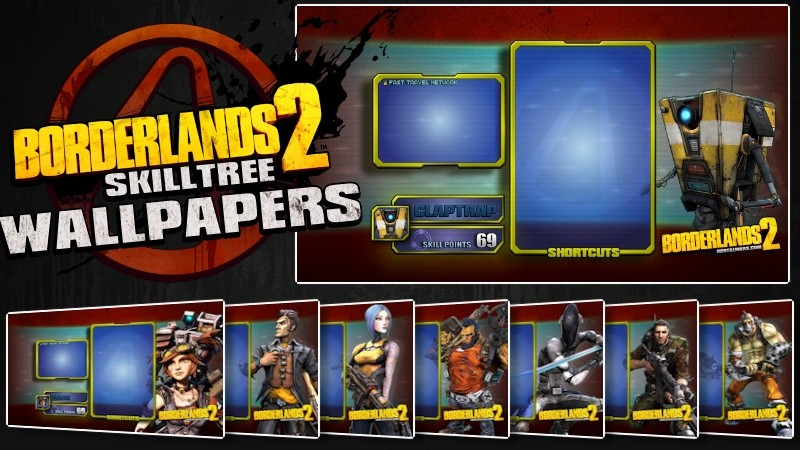 Borderlands 2 Skilltree wallpapers