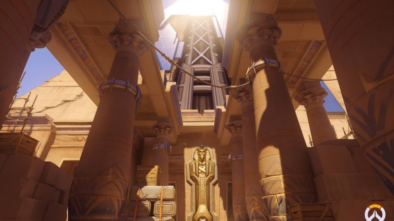 Overwatch Screenshots – Temple of Anubis