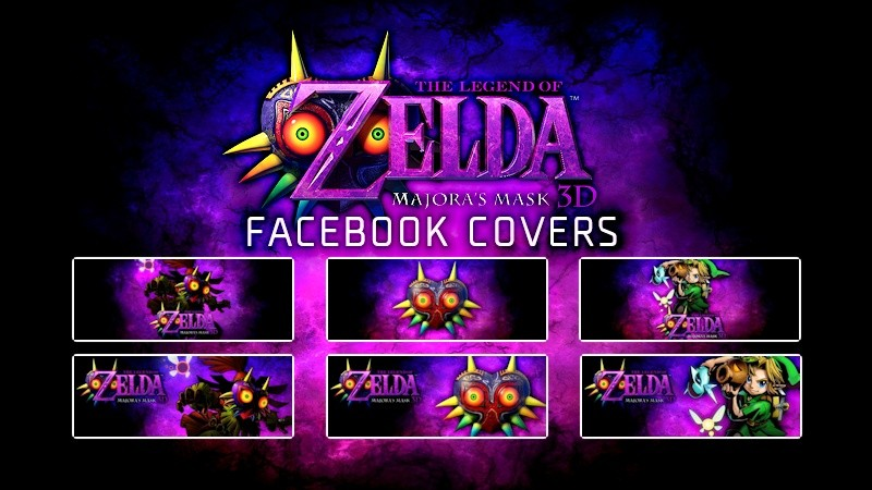 TLOZ Majora's Mask Facebook Covers