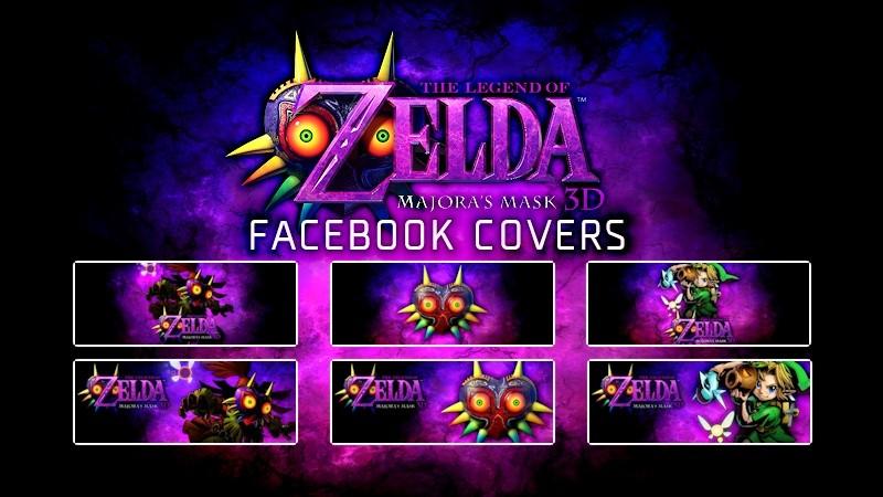 TLOZ Majora's Mask Facebook Covers