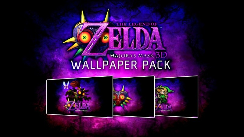 TLOZ Majora's Mask Wallpaper Pack