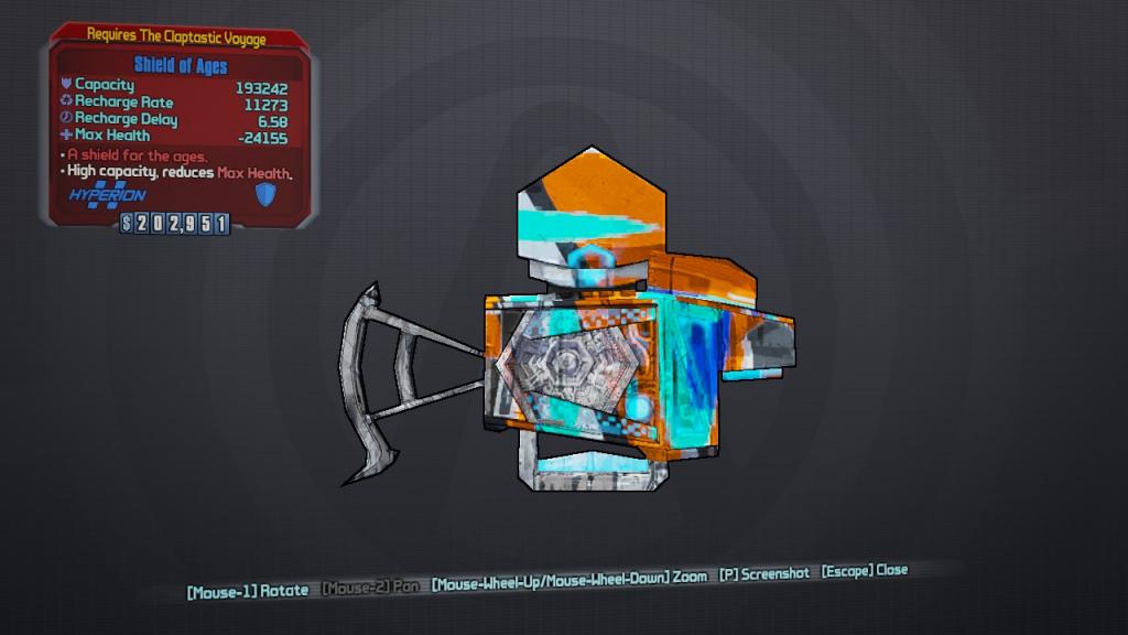 BLTPS - Claptastic Voyage Loot - Shield of Ages