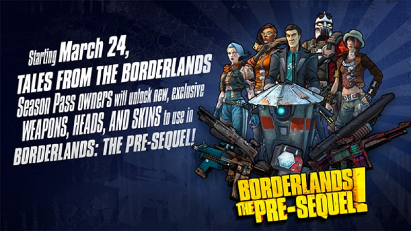 BLTPS gets Tales from the Borderlands Skins