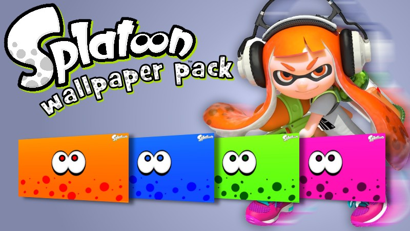 Splatoon Wallpaper Pack