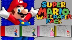 Super Mario Bros Wallpaper Pack
