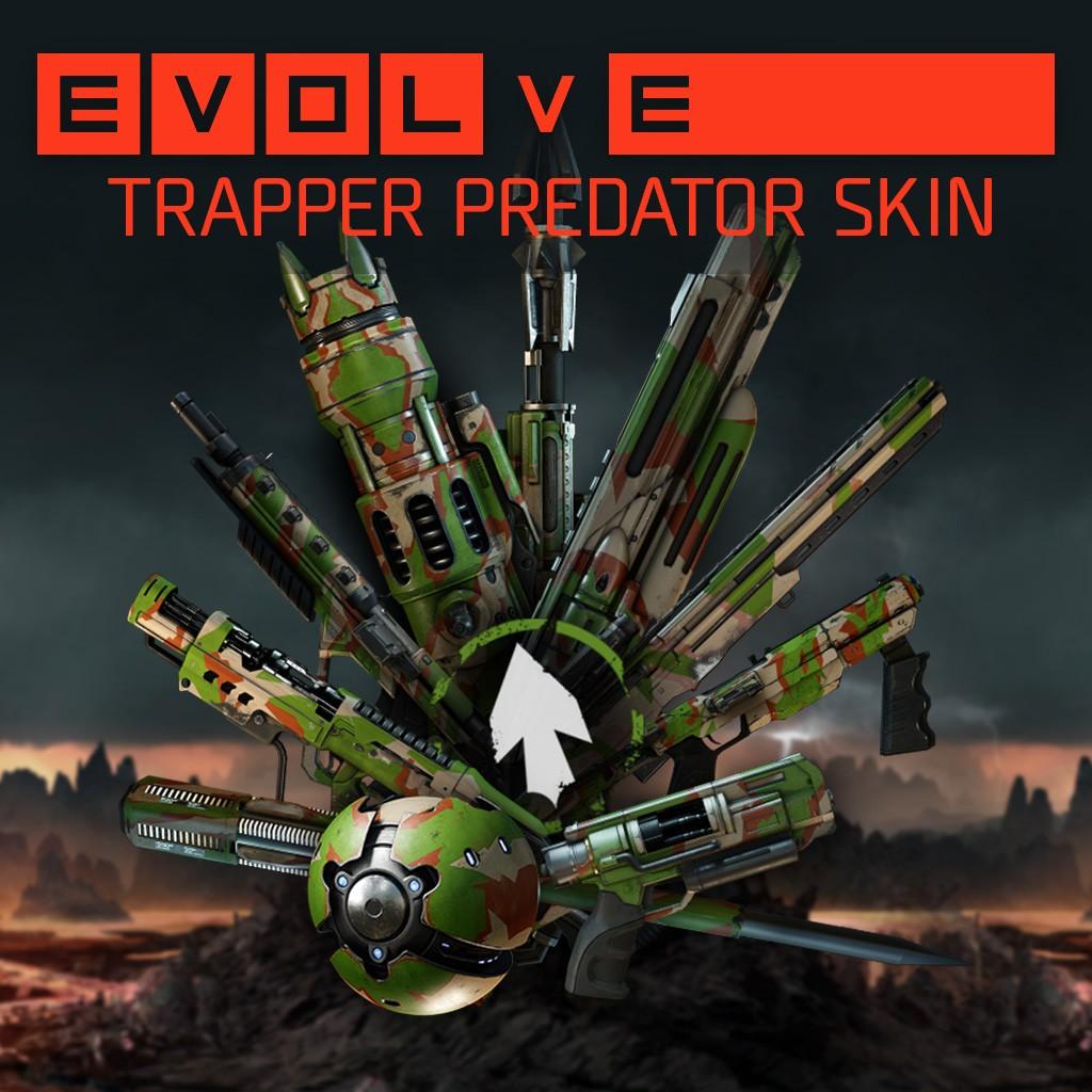 Evolve trapper challenge reward