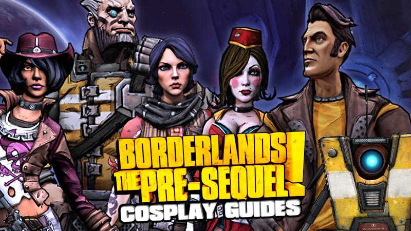 Borderlands The Pre Sequel Cosplay Guides Mentalmars