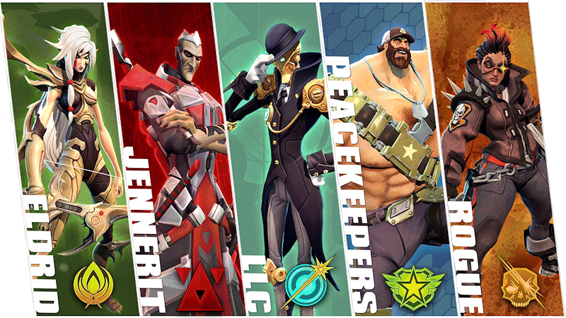 The 5 Different Battleborn Factions