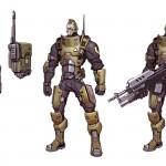 Battleborn Concept Art of Oscar Mike