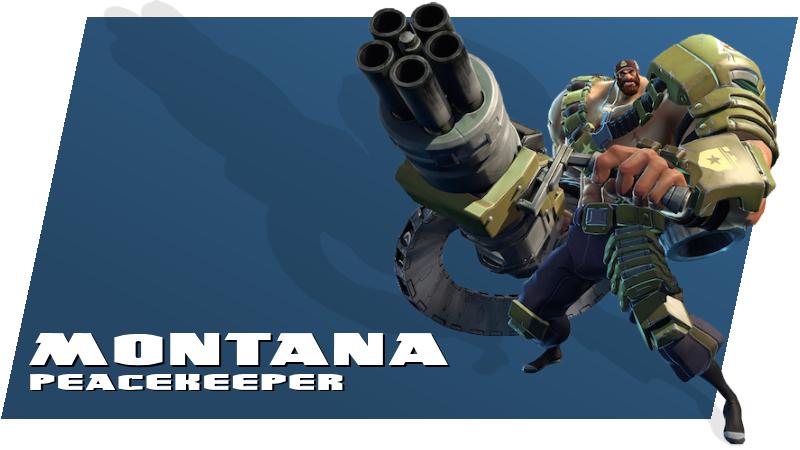 Battleborn - Montana (Peacekeeper)