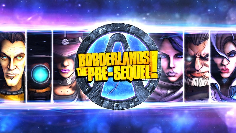 Borderlands the pre-sequel обои