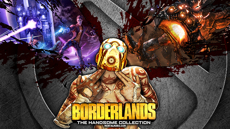 Borderlands The Handsome Collection Wallpaper