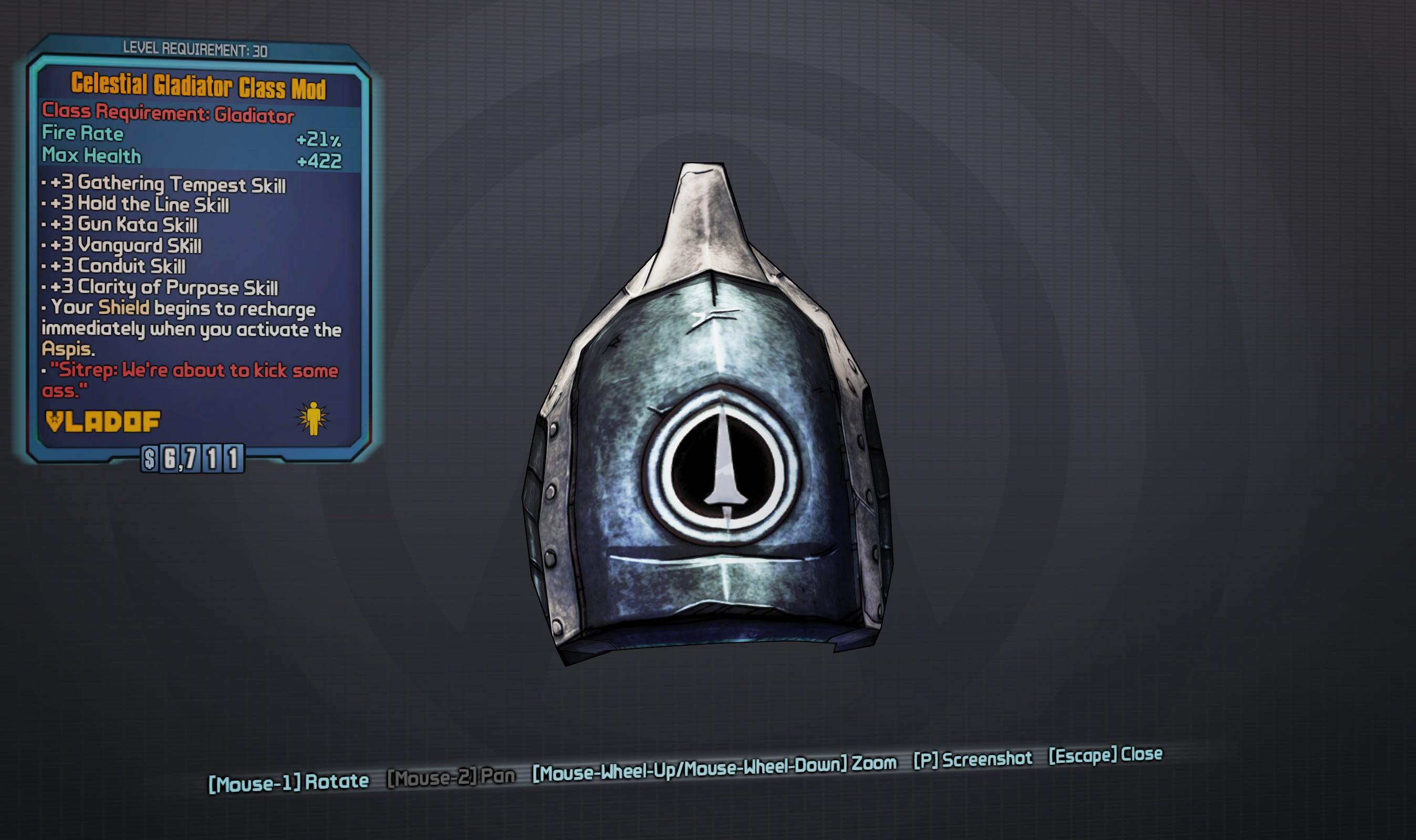 Celestial Class Mods » Borderlands Legendary Class Mod