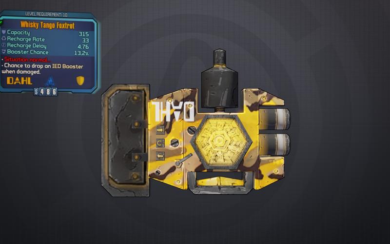BLTPS Legendary Shield - Whisky Tango Foxtrot