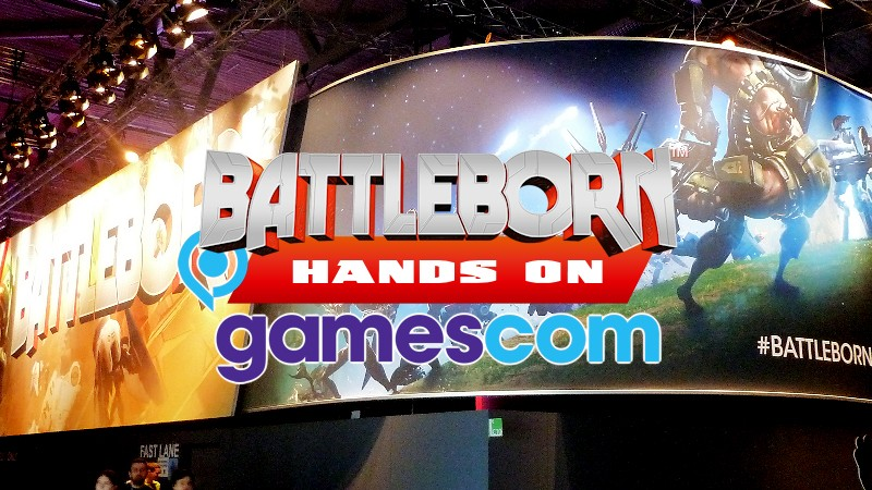 Battleborn Hands on Gamescom