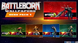 Battleborn Hero Wallpaper Pack 1