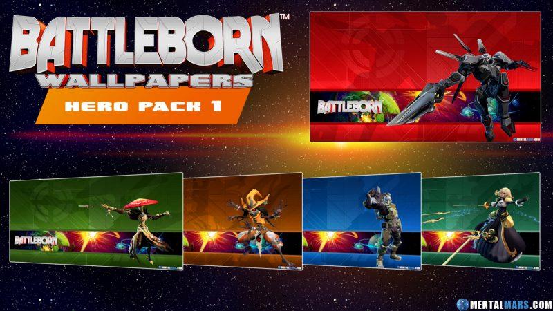 Battleborn Hero Wallpaper Pack 1