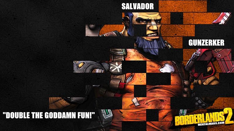 Borderlands 2 Salvador Legacy Wallpaper