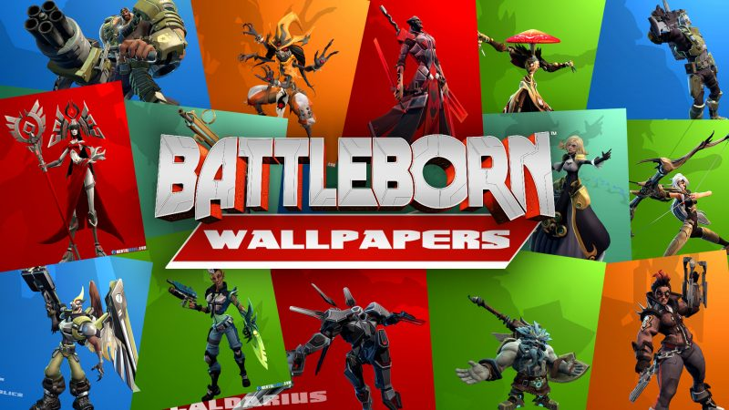 Battleborn Character Wallpaper Collage