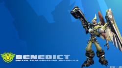 Battleborn Cool Wallpaper - Bennedict