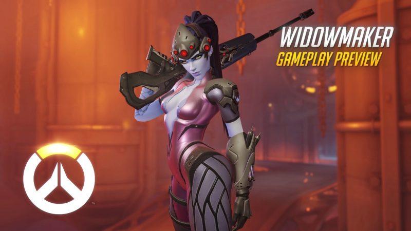 Overwatch - Widowmaker Gameplay Preview