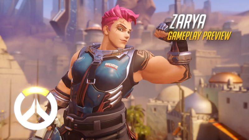 Overwatch - Zarya Gameplay Preview