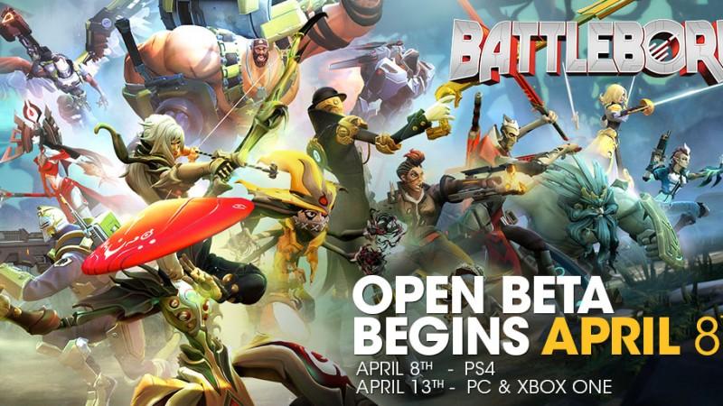 Battleborn Open Beta Announce