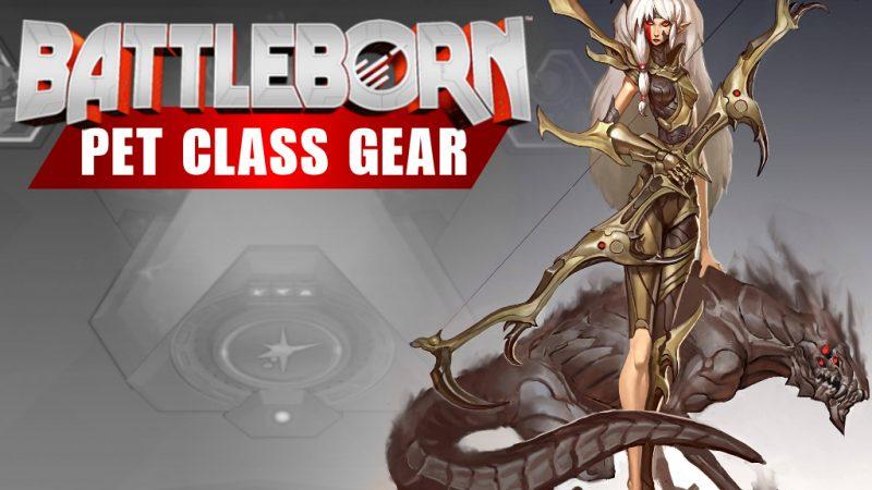 Battleborn Pet Class Gear