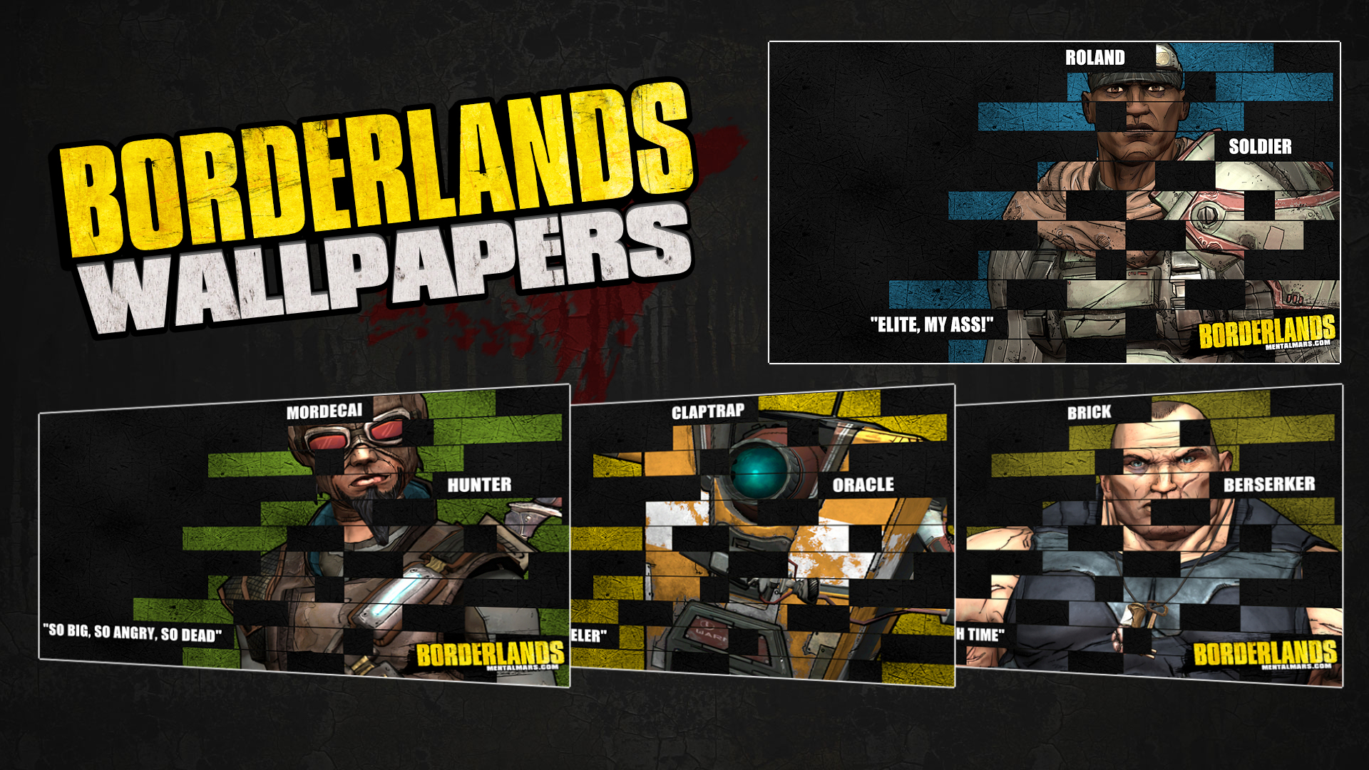 Borderlands Legacy Wallpaper Collection Mentalmars