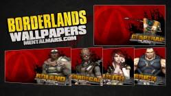 Borderlands Splatter Wallpaper Series