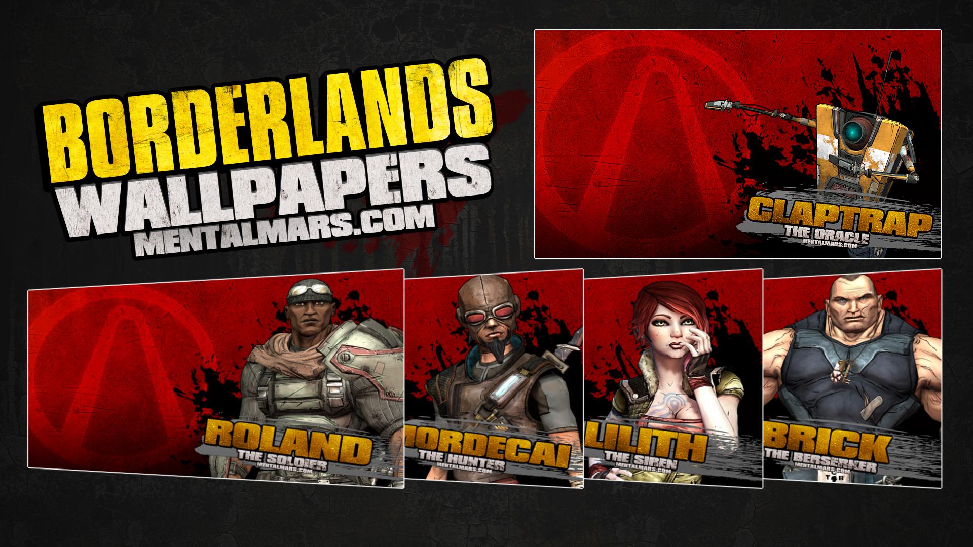 Borderlands 1 Splatter Wallpapers