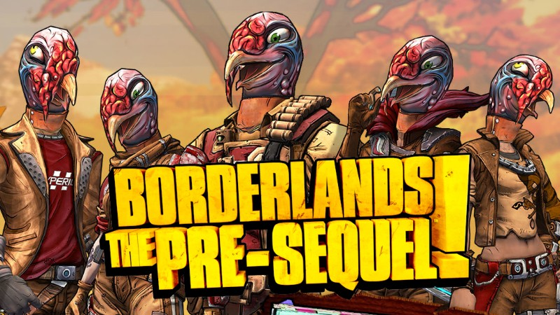 Borderlands the Pre-Sequel Wattle Gobbler Heads and Skins Shift Codes
