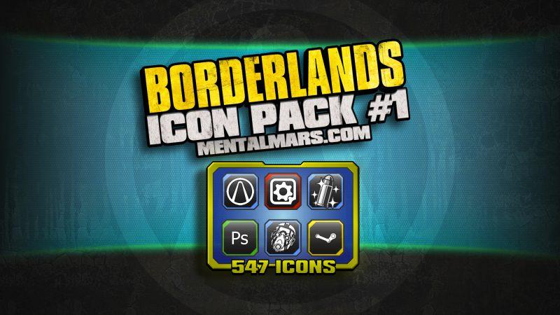 Borderlands Icon Pack 1