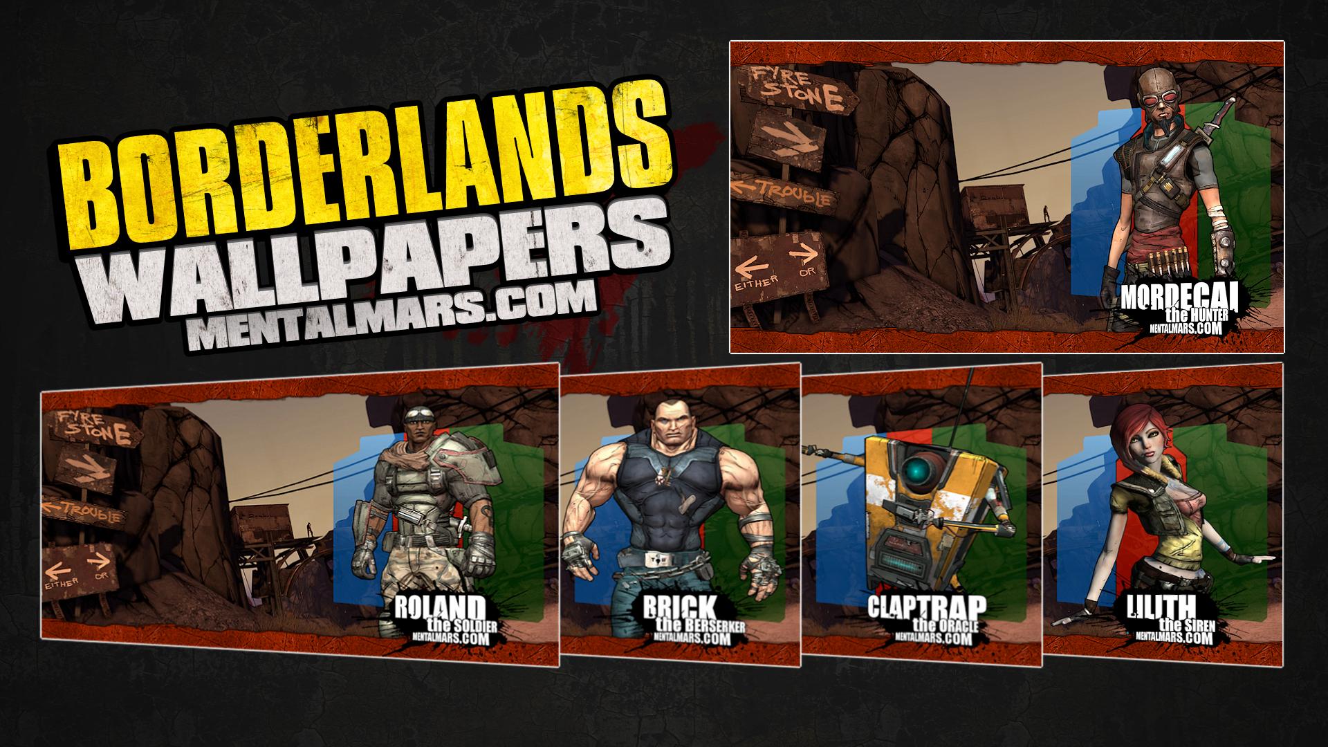 Borderlands Landscape Wallpapers MentalMars