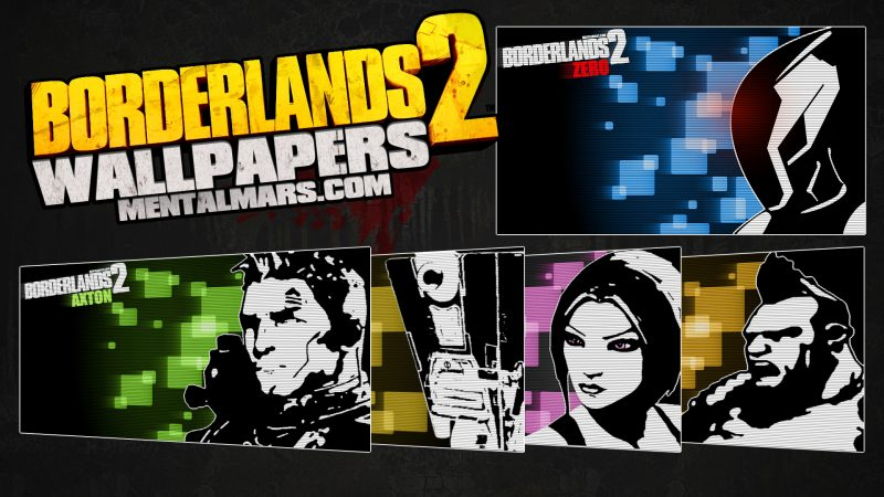 Borderlands2 Wallpaper Collage - Blacklist