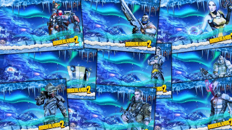 Borderlands 2 Winter Wallpaper