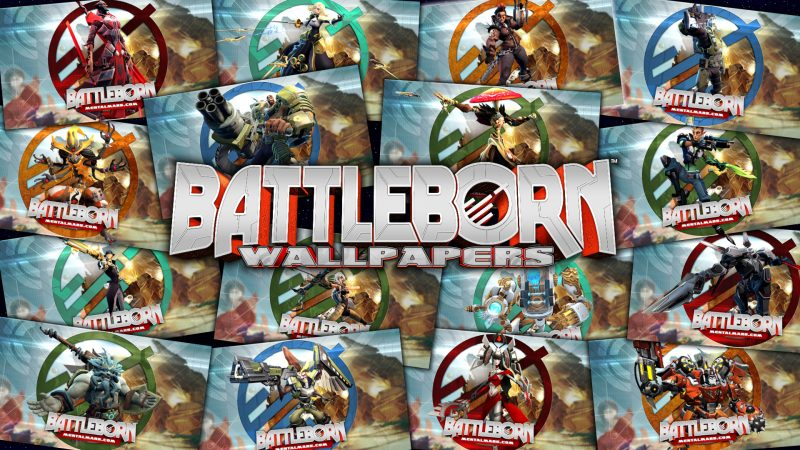 Battleborn Legends Wallpaper Gallery