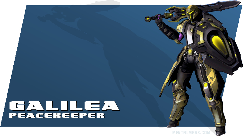 Battleborn - Galilea - Peacekeeper