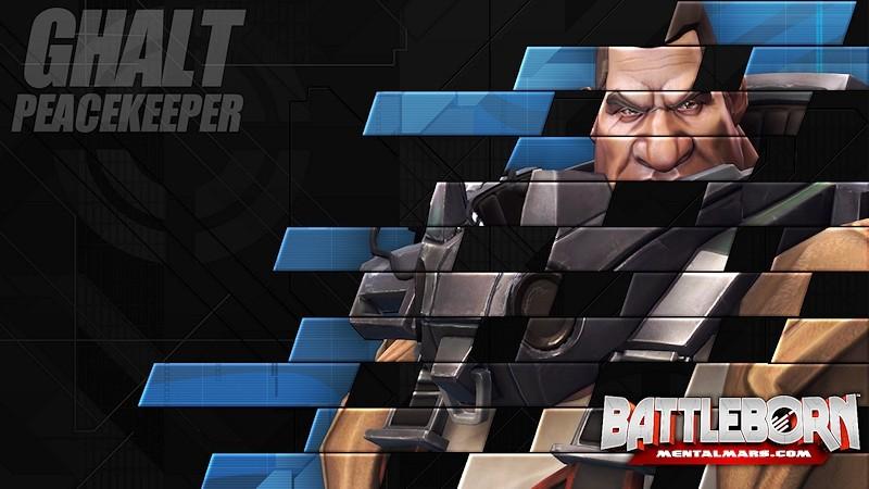 Battleborn Champion Wallpaper - Ghalt