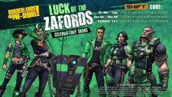 St Patricks Day skins Borderland Pre-Sequel