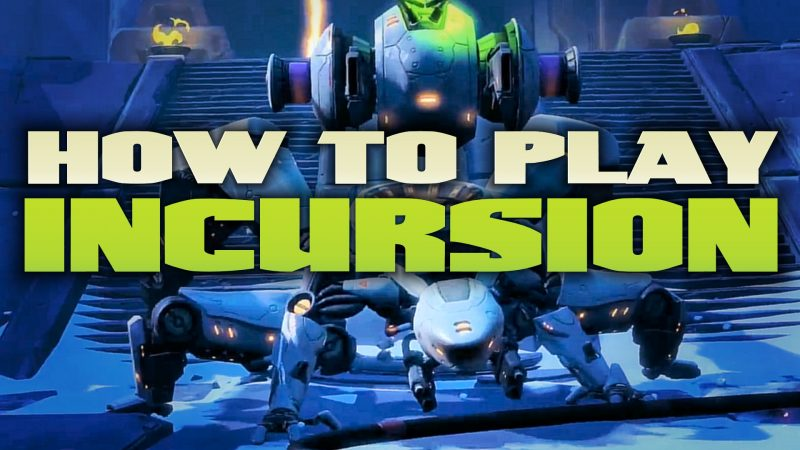 battleborn - how to play incursion mode