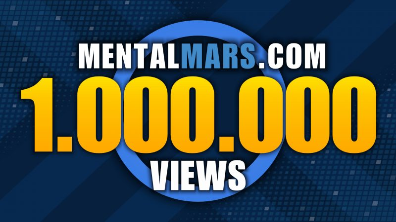 Milestone 1 Million Views